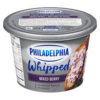 Kraft Philadelphia - Whipped Cream Cheese - Mixed Berry, 227 Gram