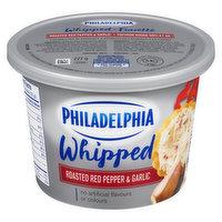 Kraft Philadelphia - Whipped Cream Cheese - Roasted Red Pepper & Garlic, 227 Gram