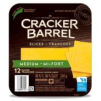 Cracker Barrel - Medium Sliced Cheese
