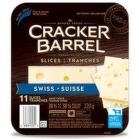 Cracker Barrel - Swiss Cheese Slices