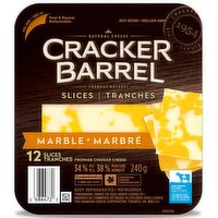 Cracker Barrel - Marble Cheese Slices