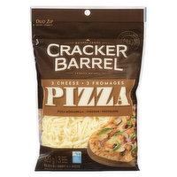Cracker Barrel Cracker Barrel - 3 Cheese Pizza Shreds, 320 Gram