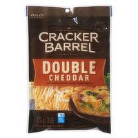 Cracker Barrel - Shredded Cheese - Double Cheddar