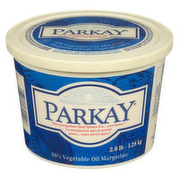 A smooth, spreadable margarine with a clean butter flavour and a uniform light yellow colour. 68% Vegetable Oil Margarine.