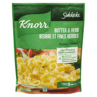 25% Less Sodium than Original. Cooks in 8 minutes. A buttery herb sauce over rippled pasta.