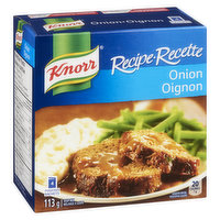 Knorr Recipe. 4 Pouches. 25% Less Sodium than Original Recipe. Low Fat. No Preservatives. No Artificial Flavours or Colours.