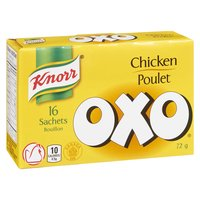 Knorr - OXO Chicken Sachets, 16 Each