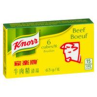 Knorr - Beef Bouillon Cubes, 6 Each