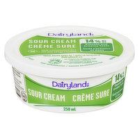 Dairyland - Sour Cream 14% M.F., 250 Millilitre