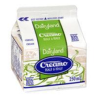 Dairyland Dairyland - Creamo Half & Half 10%, 237 Millilitre