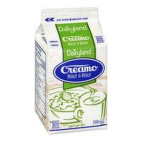 Dairyland - Creamo 10% - Half & Half, 473 Millilitre