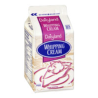 Whips into a creamy and smooth topping that is perfect for pastries, fresh fruits or hot cocoa