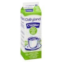 Dairyland - Creamo Half & Half 10% M.F., 1 Litre