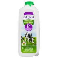 Dairyland - Organic Milk 1% M.F., 2 Litre