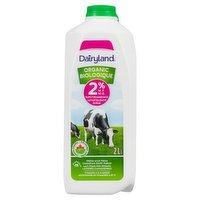 Dairyland - Organic Milk 2%  M.F., 2 Litre