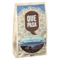 Que Pasa - Tortilla Blue Corn Chips, 350 Gram