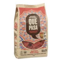 Que Pasa - Tortilla Red Corn Chips, 300 Gram