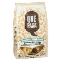 Que Pasa - Organic Tortilla Chips Unsalted, 350 Gram