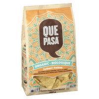 Que Pasa Que Pasa - Organic Tortilla Chips Salted, 350 Gram