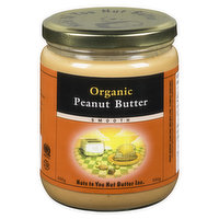 Nuts To You Nuts To You - Organic Peanut Butter - Smooth, 500 Gram