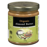 Nuts To You Nuts To You - Organic Almond Butter, 250 Gram