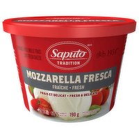 A fresh, soft cheese with a creamy, delicate white texture and milky flavor that pairs well with your favorite Italian dishes. No added preservatives.