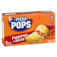 Frozen 8x100g Pizza Pops with Pepperoni and Bacon!