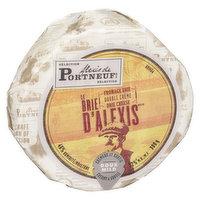 Alexis De Portneuf - Le Brie D'Alexis Double Cream  Brie Cheese - Mild, 300 Gram