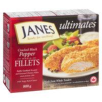 Janes - Ultimates Cracked Black Pepper Chicken Fillets