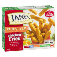 Frozen, Fully Cooked Breaded Chicken Cutlettes. Made with White Meat. No Preservatives, 0 trans fat, Low in Saturated Fat, No Artificial Flavours or Colour