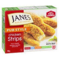 Frozen, Fully Cooked Breaded Chicken Cutlettes. Made with White Meat. No Preservatives, 0 trans fat, Low in Saturated Fat, No Artificial Flavours or Colours