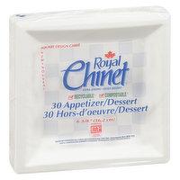 Royal Chinet Royal Chinet - Appetizer/Dessert Plates, 30 Each