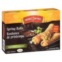 Wong Wing - Spring Rolls Vegetable