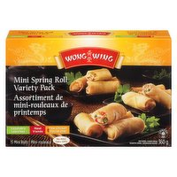 Wong Wing - Mini Spring Roll Variety Pack