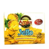 Amira Amira - Jello Mix Pineapple Halal, 70 Gram