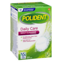 Polident - Daily Care Tablets Triple Mint Fresh