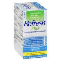Refresh - Plus Lubricant Eye Drops, 1 Each