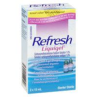 Refresh - Liquigel Lubricant Eye Drops, 2 Each