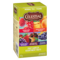 Celestial Seasonings - Herbal Tea - Fruit Sampler