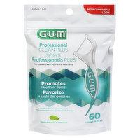 Gum - Professional Clean+ Flosser Picks - Mint