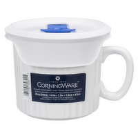 CorningWare is the ideal choice for baking, serving and storing. Made from durable stoneware material, CorningWare makes meals simple: 4.5in x 3.5in.