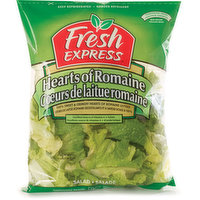 100% Sweet & Crunchy Hearts of Romaine Lettuce.  Thoroughly Washed, Ready to Eat. No Preservatives.