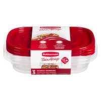 Rubbermaid - Take Alongs Rectangles Food Containers