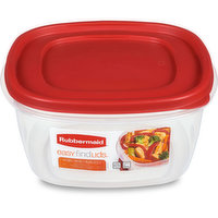 "14.0 Cup Easy Find Lids Container. Size: 9.3"" x 9.3"" x 4.7"". Microwave / Freezer / Dishwasher Safe. BPA Free. Thick, durable container walls for everyday use."