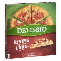 Delissio - Rising Crust Pizza -  3 Meat, 834 Gram