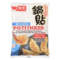 Wei Chuan - Potstickers - Pork & Vegetable, 568 Gram