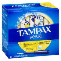 Tampax - Pearl Tampons Regular, 36 Each