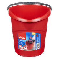 Wring your mop perfectly with minimal effort. 10 L graduated elongated oval-shaped bucket. Designed specifically for the Super Twist mop, but also a great choice for other Vileda string mops.