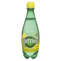 Perrier - Carbonated Natural Spring Water - Lemon, 500 Millilitre