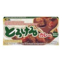 S & B - Tasty Curry Mix - Medium, 200 Gram